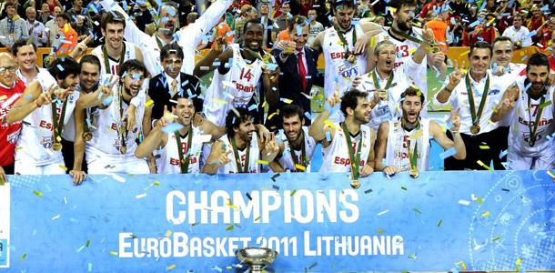 Campeones Eurobasket 2011
